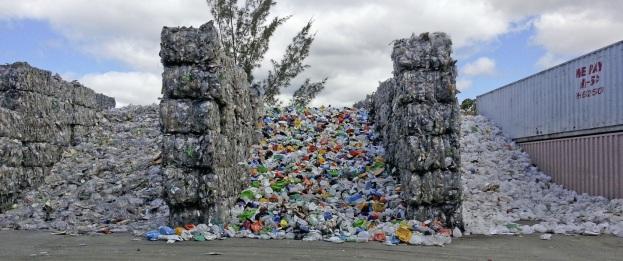 stored plastics